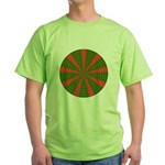 Holiday Pattern 001 Green T-Shirt