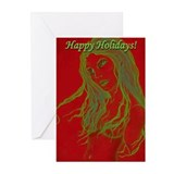 Red Rayne Holiday Greeting Cards (Pk of 10)