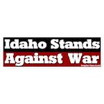 Idaho Anti-war Bumper Sticker