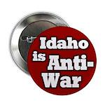 Idaho is Anti-War Button