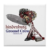 Hindenburg Ground Crew Tile Coaster
