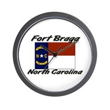 Fort Bragg North Carolina Wall Clock