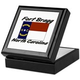 Fort Bragg North Carolina Keepsake Box