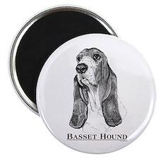 "Basset Hound Breed 2.25"" Magnet (100 pack)"