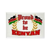 Proud to be Kenyan Rectangle Magnet