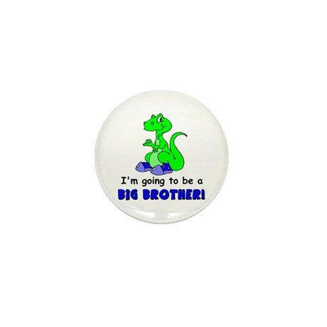 I'm Going to be a Big Brother Mini Button (100 pac