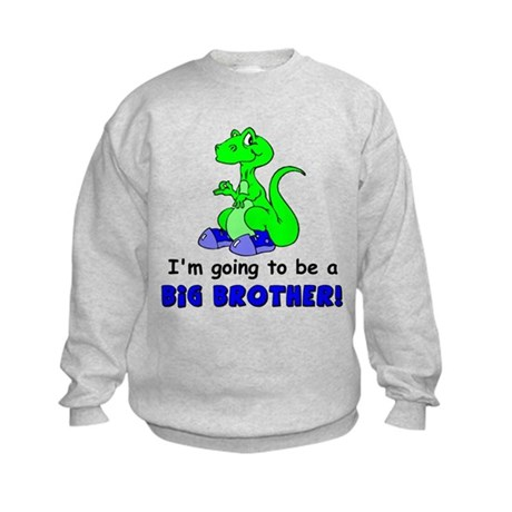I'm Going to be a Big Brother Kids Sweatshirt