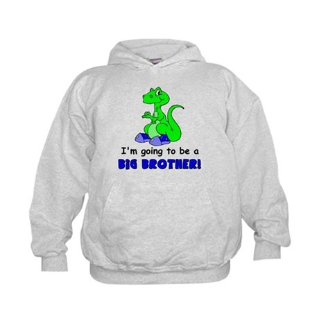 I'm Going to be a Big Brother Kids Hoodie