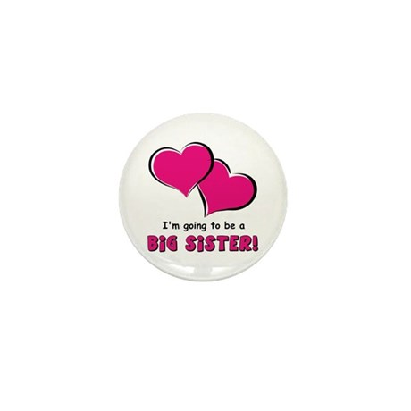 I'm Going to be a Big Sister Mini Button (100 pack