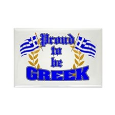 Proud to be Greek Rectangle Magnet (100 pack)
