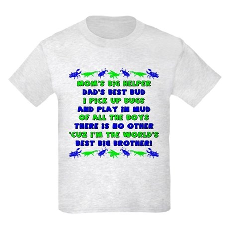 Best Big Brother Kids Light T-Shirt