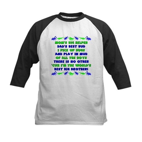Best Big Brother Kids Baseball Jersey