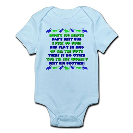 Best Big Brother Infant Bodysuit