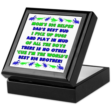 Best Big Brother Keepsake Box