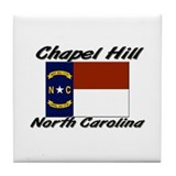 Chapel Hill North Carolina Tile Coaster