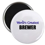 Worlds Greatest BREWER Magnet