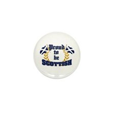 Proud to be Scottish Mini Button (10 pack)
