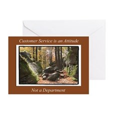 Customer Service Autumn Greeting Cards (Pk of 20)