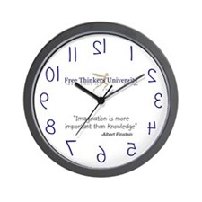 FTU Imagination - Wall Clock