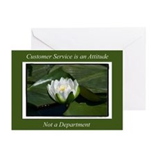 Customer Service Lily Greeting Cards (Pk of 20)