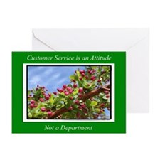 Customer Service Flowers Greeting Cards (Pk of 20)