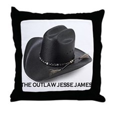 OUTLAW JESSE JAMES Throw Pillow
