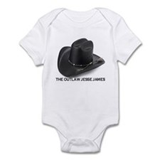 OUTLAW JESSE JAMES Infant Bodysuit