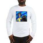 DOG WITH DREADLOCKS Long Sleeve T-Shirt