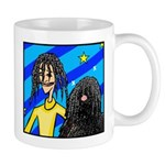DOG WITH DREADLOCKS Mug