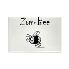 Funny Zombie kids Rectangle Magnet (10 pack)