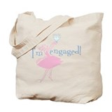 Retro Engaged Tote Bag