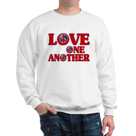 Love One Another Men's Sweatshirt