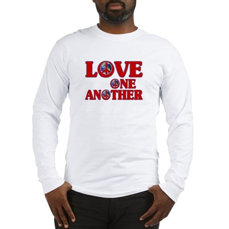Love One Another Men's Long Sleeve T-Shirt