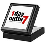 1 Day Outta 7 Keepsake Box