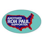 Ron Paul Oval Sticker