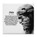 Plato Truth Reality Tile Coaster