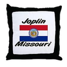 Joplin Missouri Throw Pillow