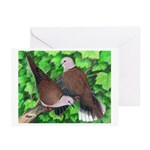 Ringneck Doves Greeting Cards (Pk of 10)