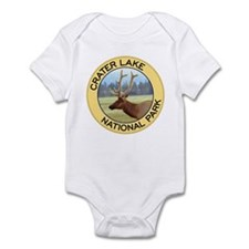 Crater Lake NP (Elk) Infant Bodysuit
