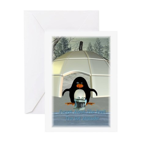 Pongo - Greeting Card 5x7 Single Card
