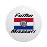 Fulton Missouri Ornament (Round)
