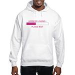 GODDESS LOADING Hooded Sweatshirt