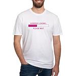 GODDESS LOADING Fitted T-Shirt