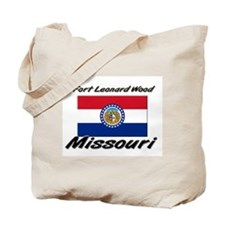 Fort Leonard Wood Missouri Tote Bag
