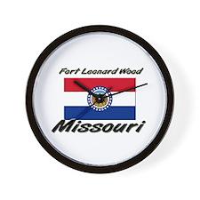 Fort Leonard Wood Missouri Wall Clock