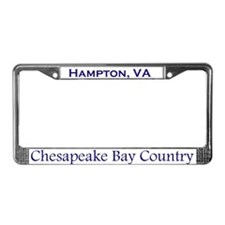 Hampton, Chesapeake Bay License Plate Frame