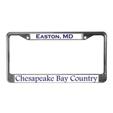Easton, Chesapeake Bay License Plate Frame