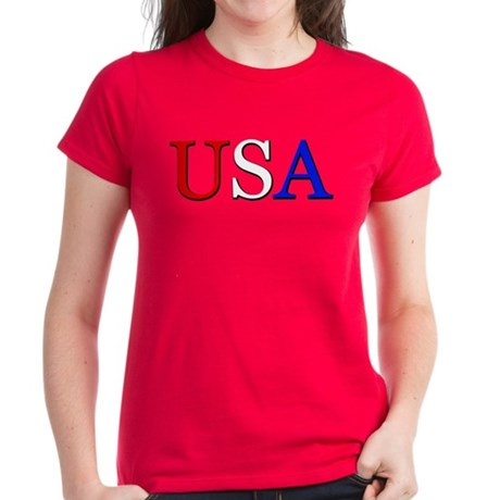 USA Women's Dark T-Shirt