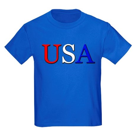 USA Kids Dark T-Shirt
