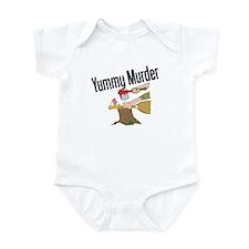 Turkey is Yummy Murder Infant Bodysuit